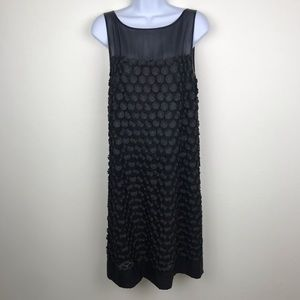 🍸 LEIFSDOTTIR Black Sleeveless Chiffon Dress 10